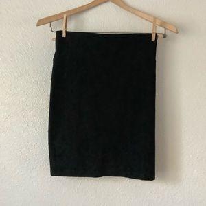 Eileen fisher petite black skirt